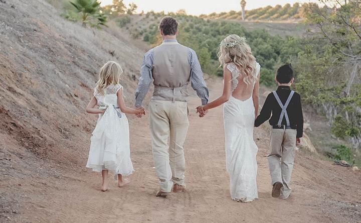 shabby chic california wedding 1