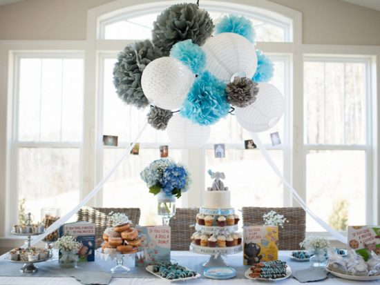 Clever Storybook Baby Shower