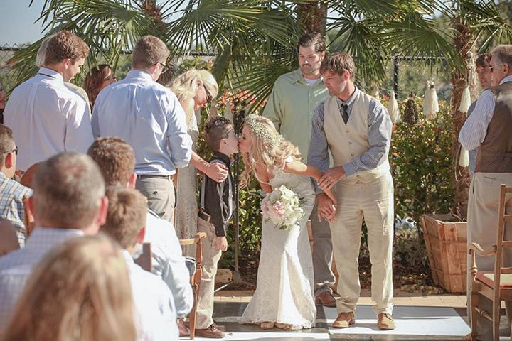 shabby chic california wedding 16