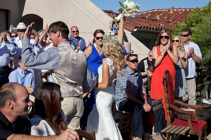 shabby chic california wedding 17
