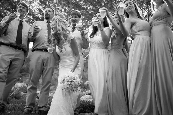 shabby chic california wedding 28