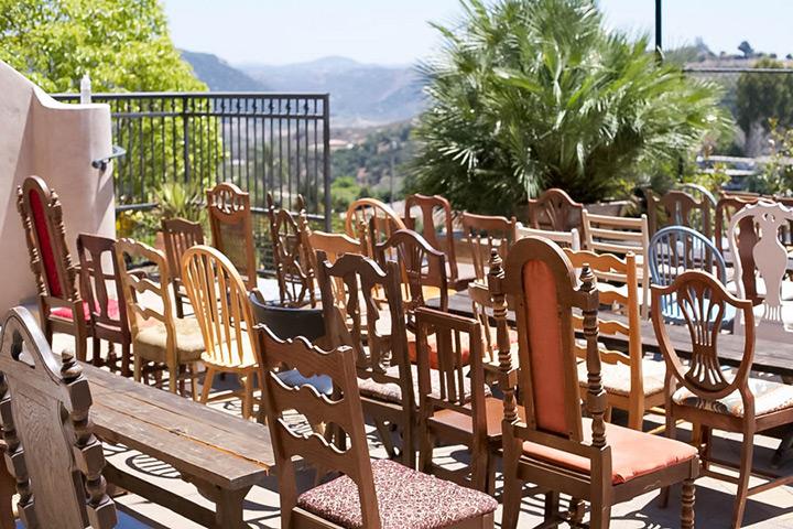 shabby chic california wedding 29