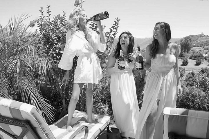 shabby chic california wedding 6b