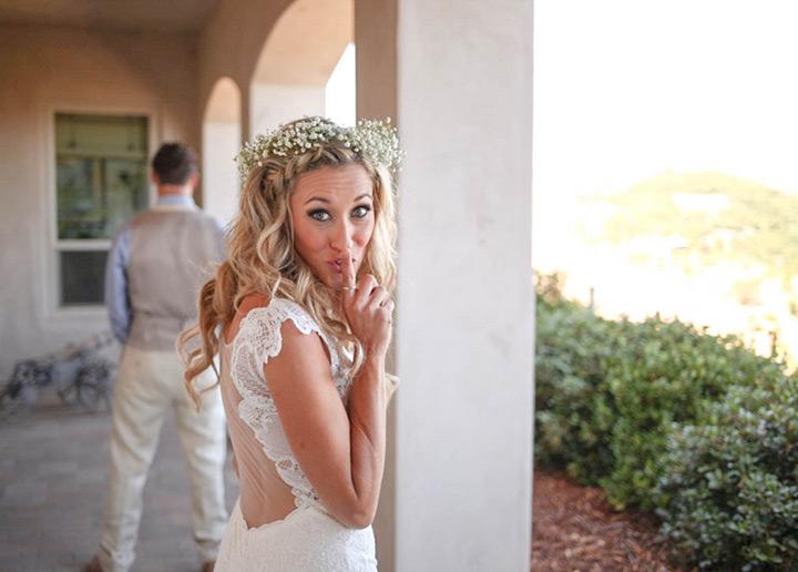 shabby chic california wedding 8