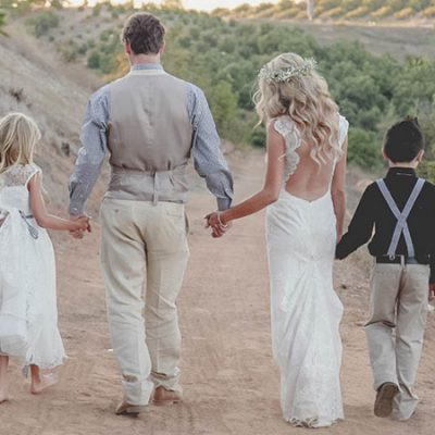 Backless Boho Bride Bombshell