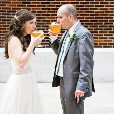 Laid Back Wedding at the Schlafly Tap Room