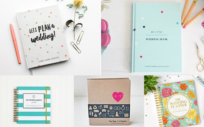 Our Favorite Etsy Wedding Planner Books