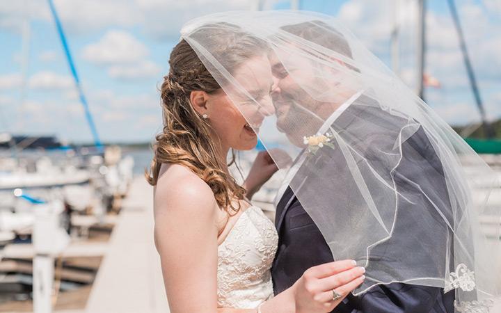 Nautical Sailing Club Wedding