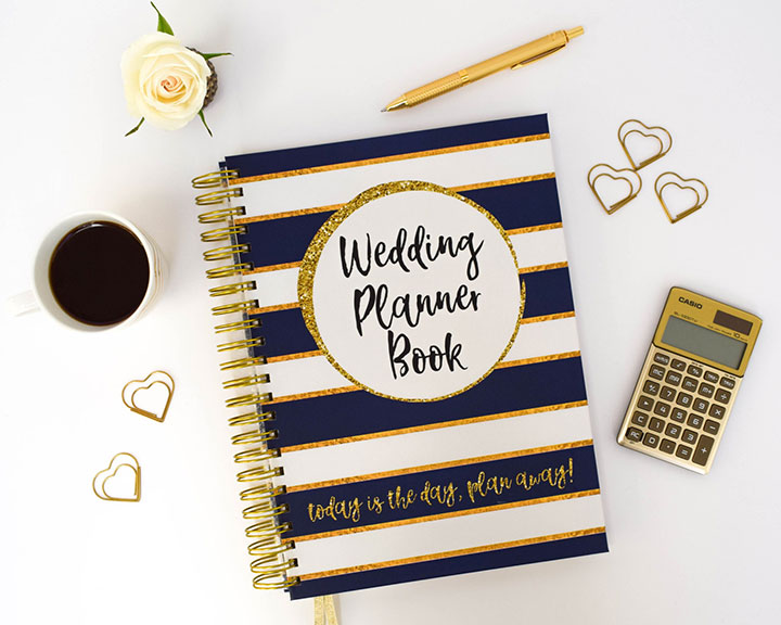 The Wedding Planner Book Contains 160 Pages Including A 12 Month Countdown With Checklists And Tips To Help You Along Way Detailed Planning Sheets