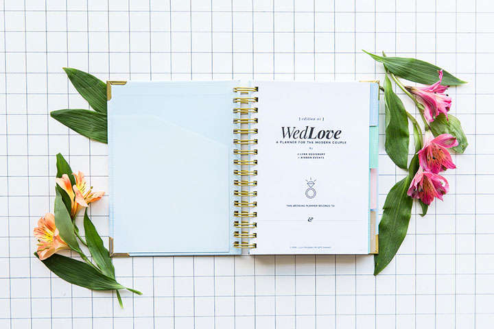 The best wedding planner books for 2017 this wedding planner book features a full wedding planner section inspiration guides and a full notebook in the back of the planner for all of your note junglespirit Images