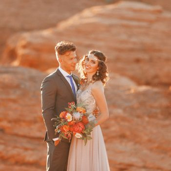 Moroccan Inspiration with a Gorgeous (and Affordable) Wedding Dress!