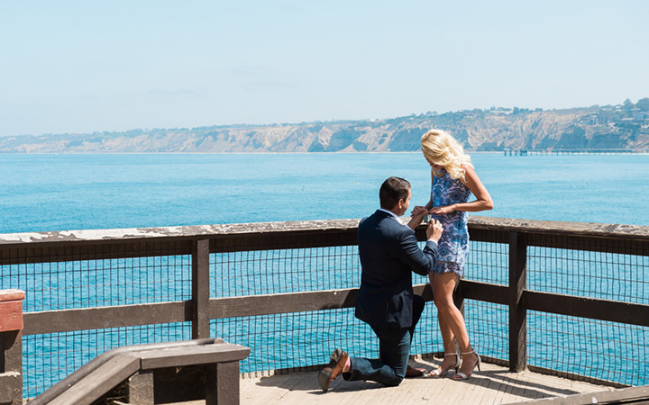 Surprise Proposal in La Jolla, CA