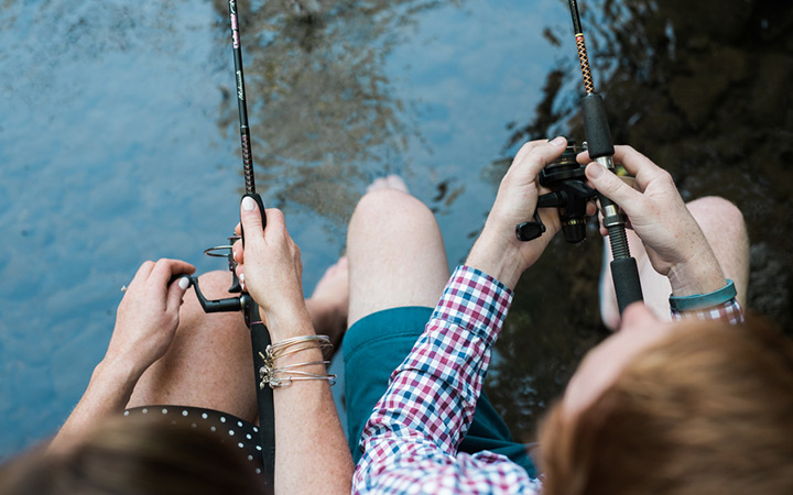 Gone Fishing Engagement Session