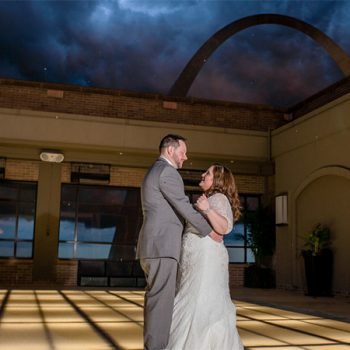 Thunderstorms Didn't Rain Out This Bride's Wedding Day!
