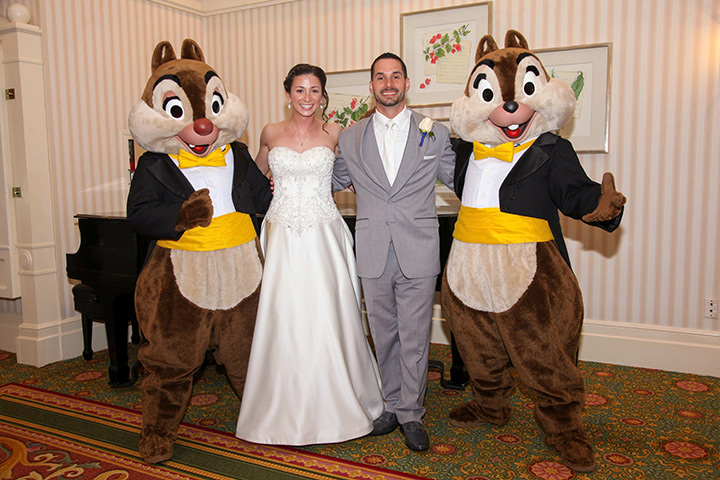 disney-fairytale-wedding-chip-and-dale-guests
