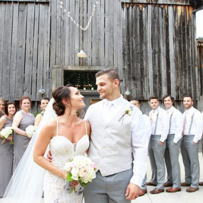 Rustic Wedding at The Barn at Chestnut Springs