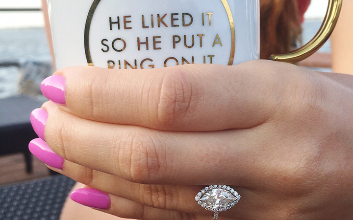 How to Announce Your Newly #Engaged Status!
