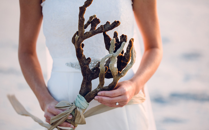 We Love This Alternative Bridal Bouquet!