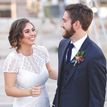 You'll Want this Dress After Seeing This Romantic Industrial Styled Shoot