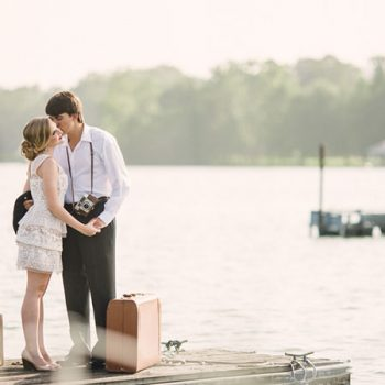 Sailboat Honeymoon Styled Shoot