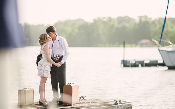 Sailboat Honeymoon Styled Shoot