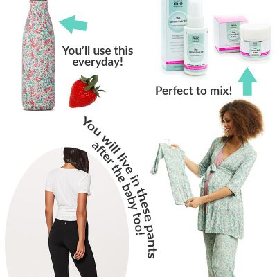 5 First Trimester Pregnancy Must Haves