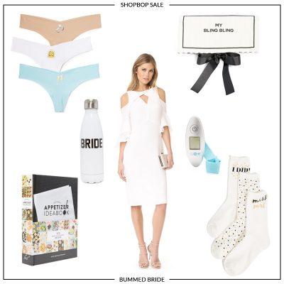 Bridal Favorites from Shopbop's Sale