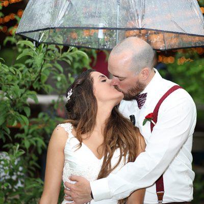 Embracing Rain on Your Wedding Day!