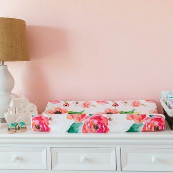 Charlotte's Sweet Pink Floral Nursery