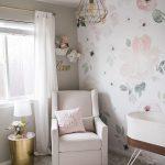 Soft Modern Floral Nursery