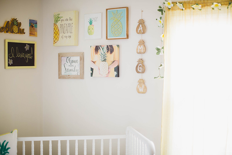 Hawaiian Themed Pineapple Nursery