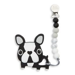 French Bulldog baby teether