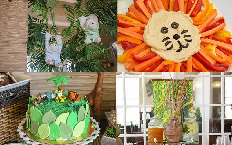 Ideas for a Jungle Safari Themed Baby Shower