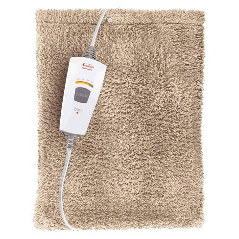 faux fur heating pad