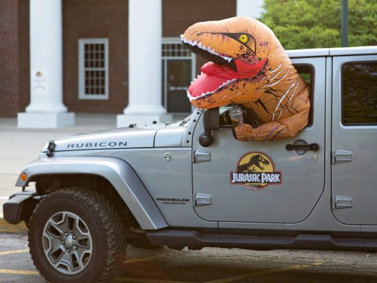 Back to School Jurassic Park Style