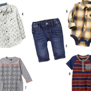 Affordable Fall Clothes for Baby Boys + Toddlers