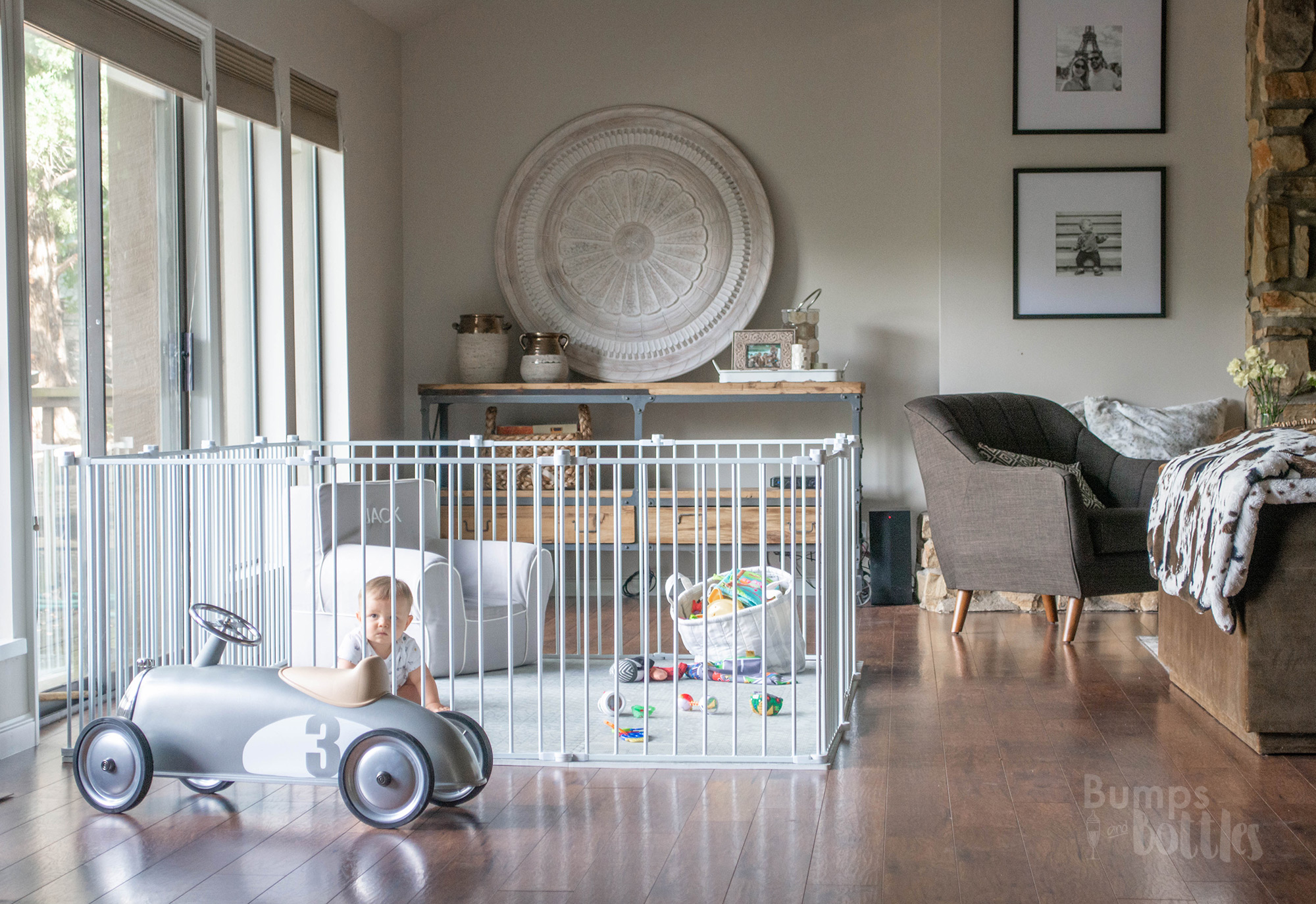 Tips For Creating An Attractive Baby Friendly Living Room Bumps And Bottles
