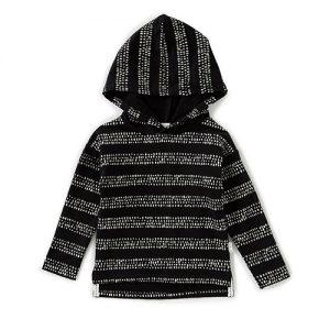 Miles Baby   Stripe Hoodie