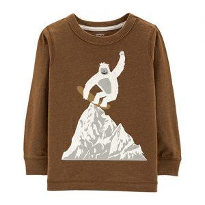 Yeti Snowboarder Tee