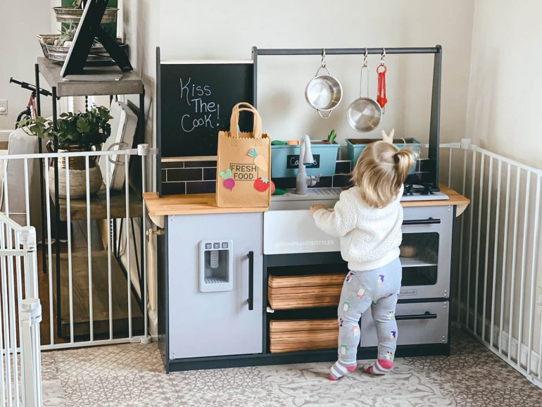 The Most Attractive Play Kitchens For Your Home Bumps And Bottles