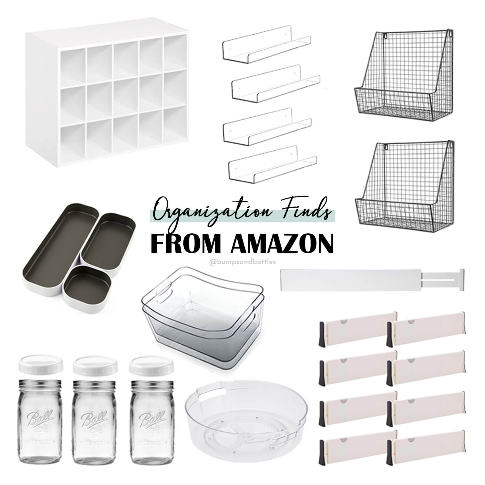 Roundup of favorite organization products